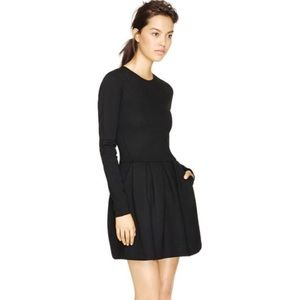 Aritzia Wilfred Tartine Black Dress Size 2